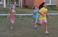 Croton Elementary students run the Morning Mile