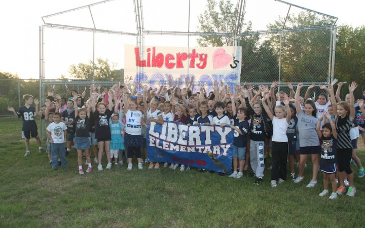 Liberty Elementary Award Winning Morning Mile Program!