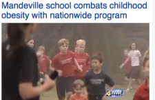 Lousiana's 1st Morning Mile Program featured on WWLTV Eyewitness News