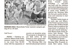 South Florida Times: Parks' Effort has Kids on the Run