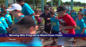 Miami Dade Now Morning Mile AvMed Kids running program