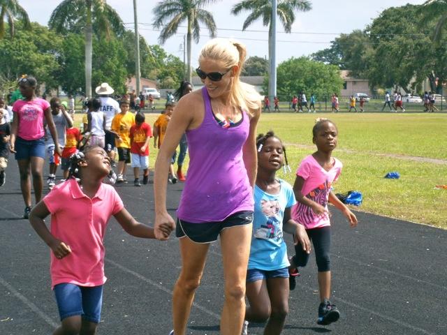 fitz koehler morning mile running with kids miami