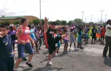 miami-dade morning mile tim hardaway fitzness parks running childhood obesity - 4