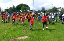 miami-dade morning mile tim hardaway fitzness parks running childhood obesity - 6