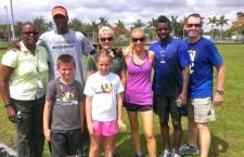 miami-dade morning mile tim hardaway fitzness parks running childhood obesity - 8