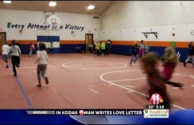 Holston View Elementary's Morning Mile Program in the News!